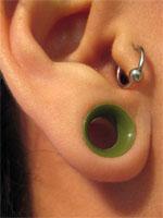 緑のEar Skin
