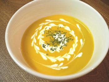 かぼちゃの冷たいスープ