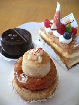 タダシヤナギのケーキ