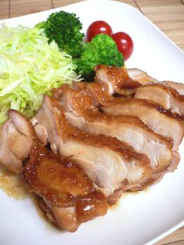 黒酢&はちみつの照焼きチキン