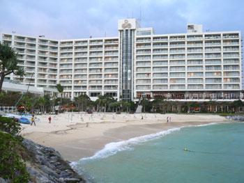 オーシャンビューのホテルでっす