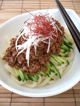 うどんde炸醤麺