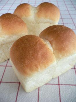 プレーンなミニ食パン