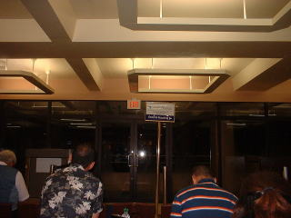 パラオ空港の待合室