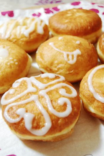ふんわり~豆腐・豆乳ドーナツ☆アイシングdeお落書き