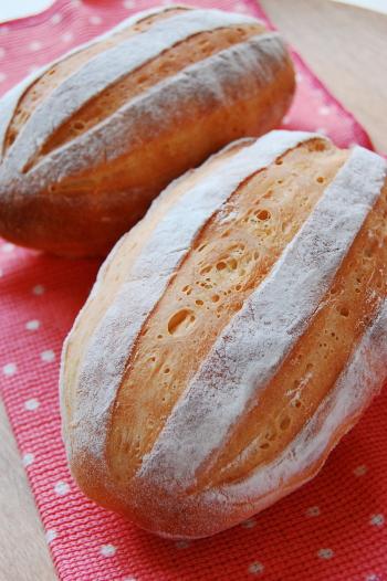 ゆっくり発酵no牛乳パン