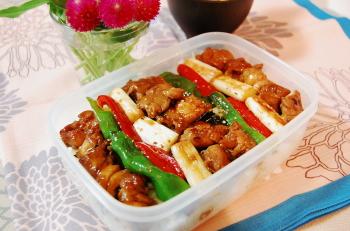 カラフル鶏丼♪