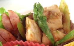 鶏の柚子胡椒炒め