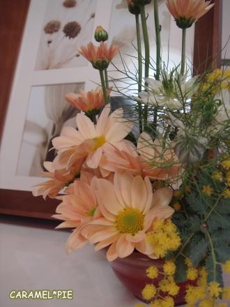 お花も和風に。。。