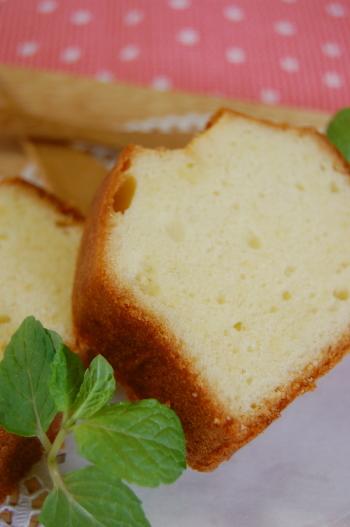 パウンドケーキの作り方♪
