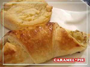 クラムチャウダーパイ&ホワイトチョコレートマカダミアクッキー