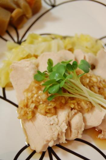 ラクラク・ヘルシ~na鶏肉のネギソース