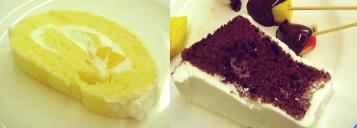 チーズロール&チョコシフォン