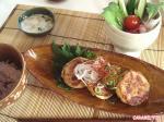豆腐とおからのハンバーグ