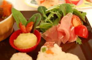 サラダとさつま芋のマッシュ☆