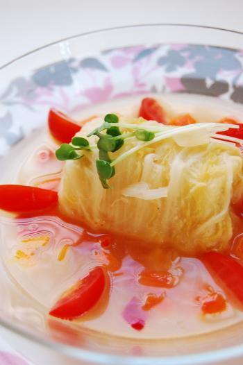 バターコンソメno白菜ロール