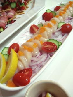 帆立のサラダ