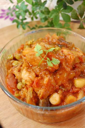 炊飯器de鶏肉のトマト煮込み