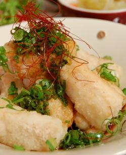 白身魚のピリ辛☆ネギポンソース