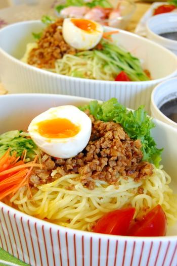 黒ゴマ担々麺(タンタン麺)naつけ麺
