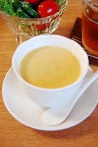 レトルトのコーンスープ