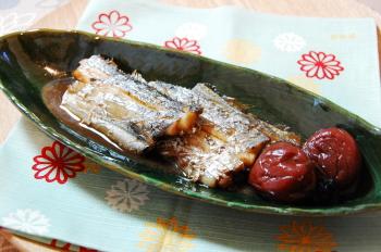 太刀魚の梅煮