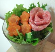 お花畑のサラダ^^