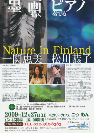 Nature in Finlandフライヤー