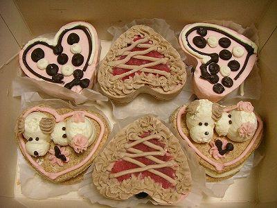 わんこ用ケーキ♪