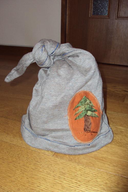 ノーム帽 ジャージー 木