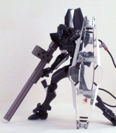 ランチャー銃にシールド