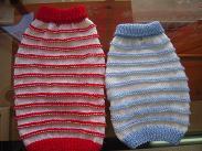 手編みボコボコ