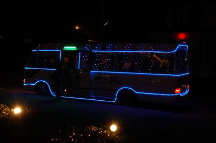 #003 イルミネーションバス