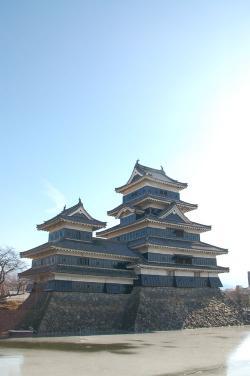 #001 松本城