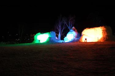 #009 氷燈祭