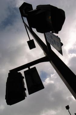 #001 空と信号機