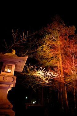 #017 オレンジ灯篭