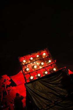 #022 善光寺へのライトアップ