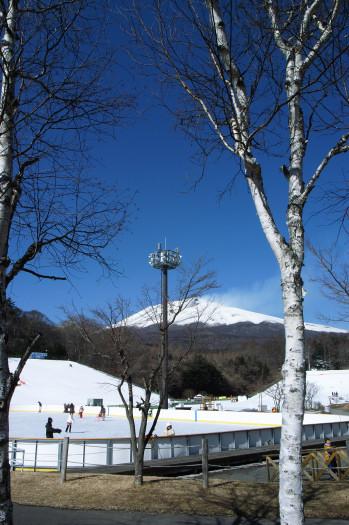 #003 浅間山を覗く