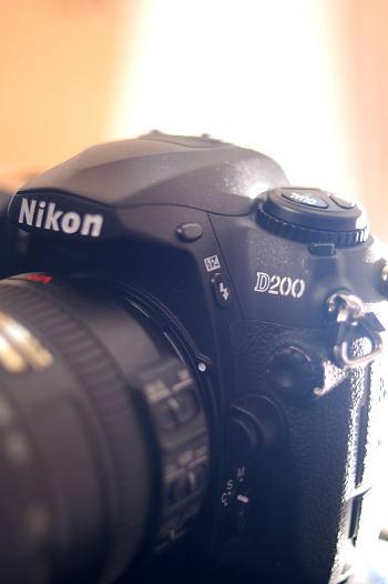 #002 Nikon D200