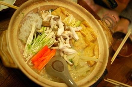 #001 キムチ鍋