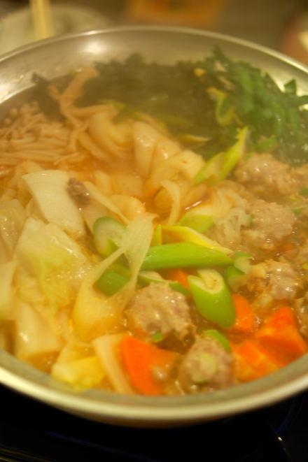 #002 キムチ鍋