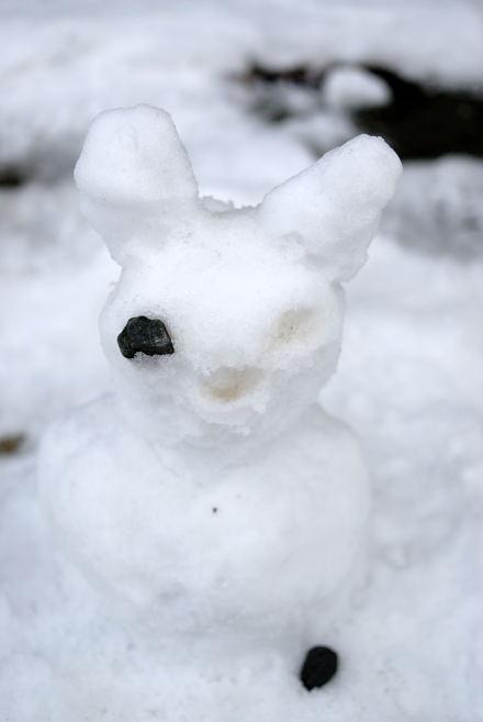 #004 雪だるま