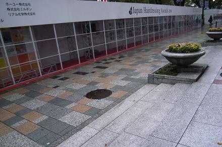 #003 雨の歩道