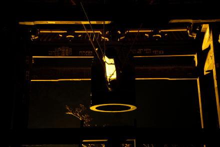 #006 金色に輝く鐘付き堂