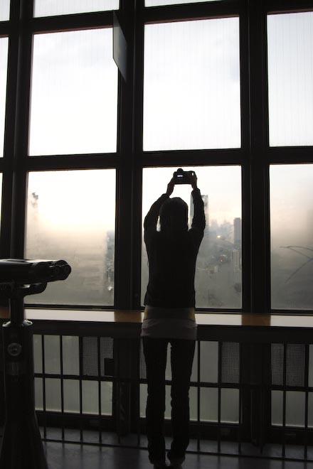#002 東京タワーの窓から