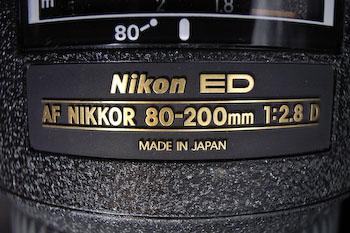 #003 AF NIKKOR 80-200mm F2.8D