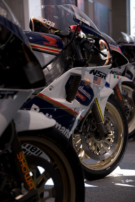 #004 HONDA Racing Bike