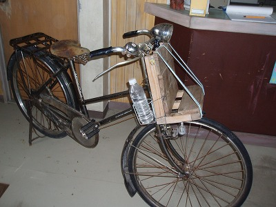 コトー先生の自転車