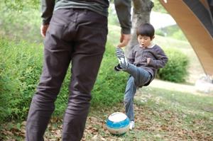 杏の丘サッカーボール